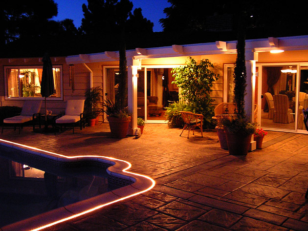 Low voltage outdoor lighting san diego ca for Low voltage landscape lighting systems