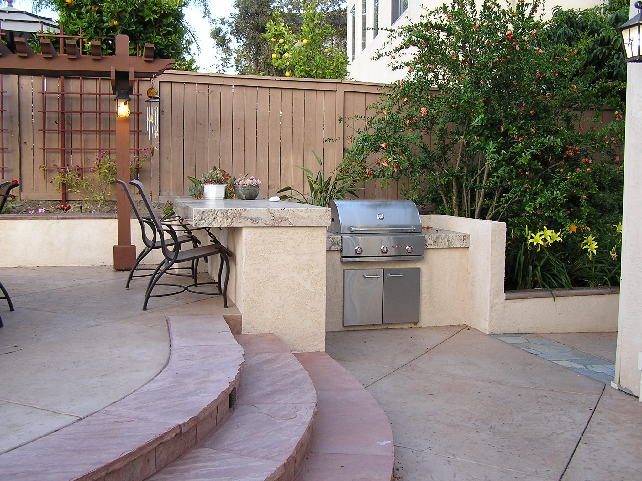 Outdoor Kitchens and Barbecues - San Diego Landscape Contractors