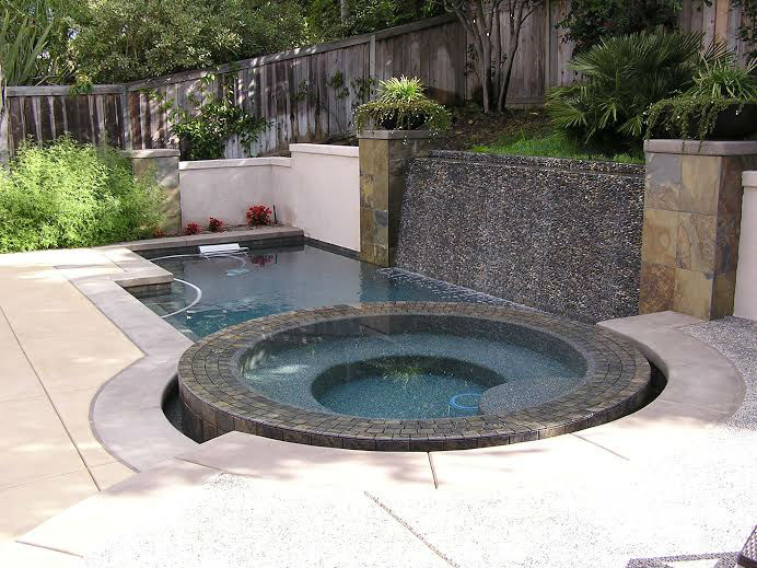 Custom Swimming Pool San Diego CA - Photo Gallery - Outdoor Kitchens, Fire Rings, Gardens & Landscaping