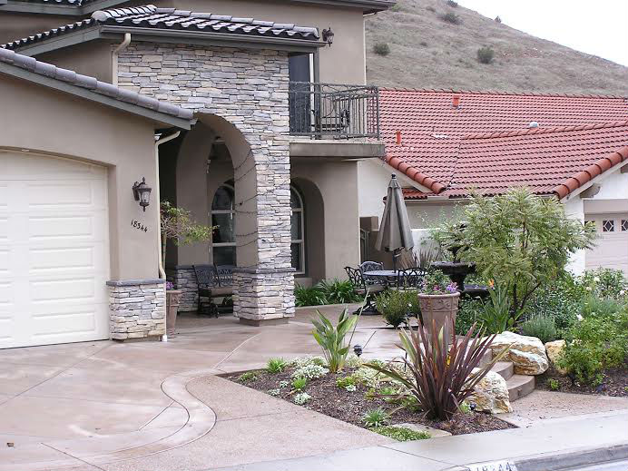 Photo gallery outdoor kitchens fire rings gardens landscaping san diego landcare systems - Backyard design san diego ...