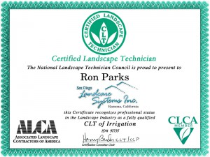 award certification