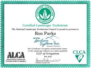 award certification