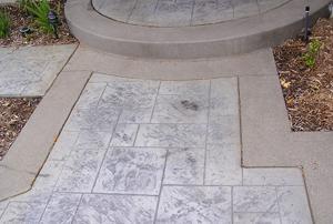 Colored & Stamped Concrete