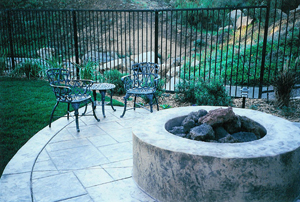 Fireplaces and Fire Rings