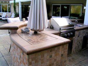 San Diego outdoor kitchen