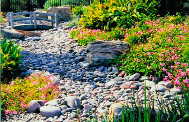 Mission Hills dry streambeds