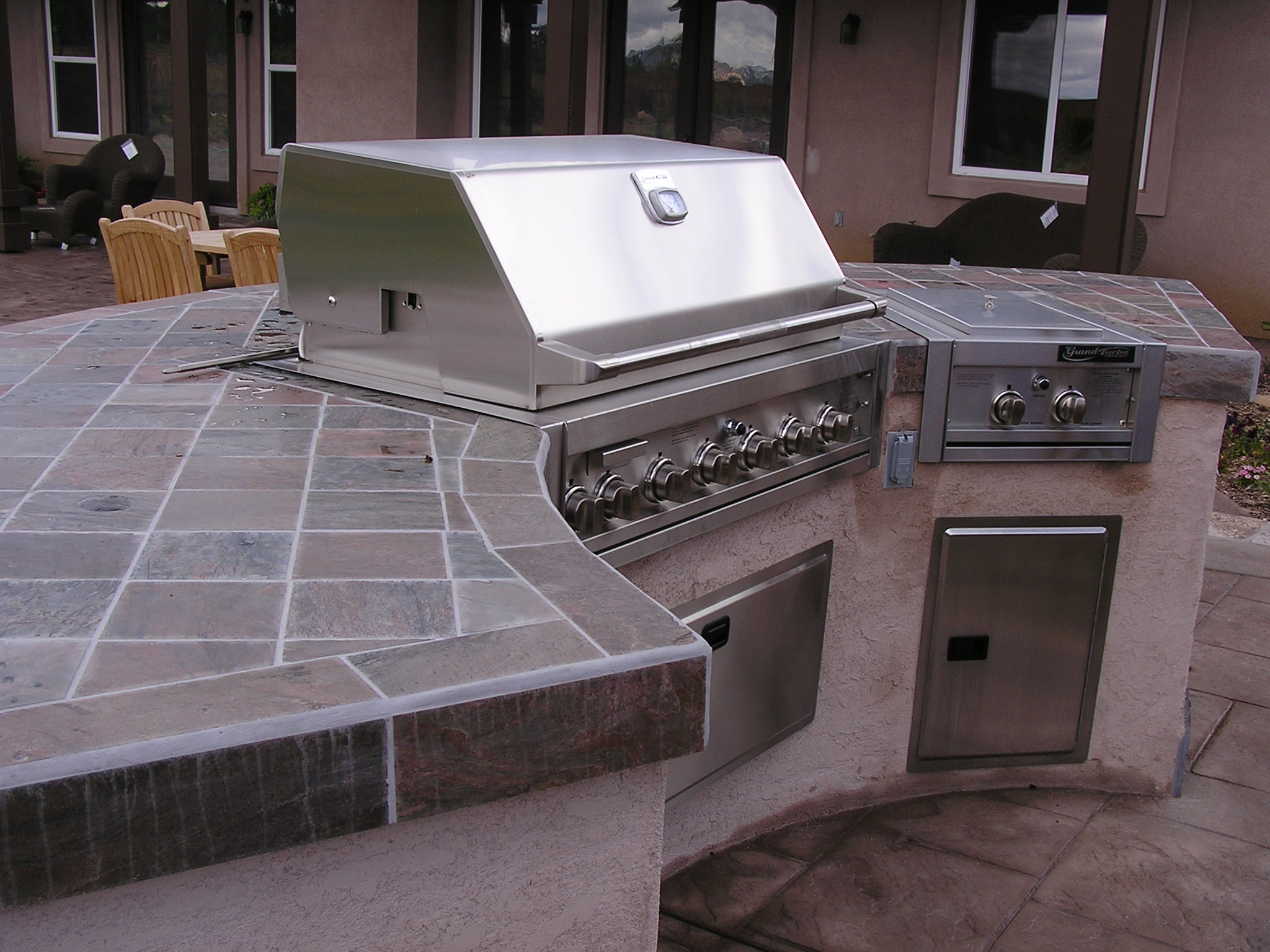 Outdoor Kitchens San Diego Add A Bbq Island To Enhance Your Backyard Gatherings