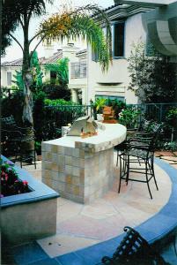 San Diego Landscape Design Custom BBQ