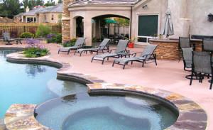 San Diego swimming pool landscape designs
