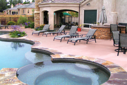 San Diego swimming pool landscape designs