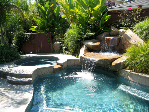 Design and build landscape when adding a pool san diego ca for Sd garden designs