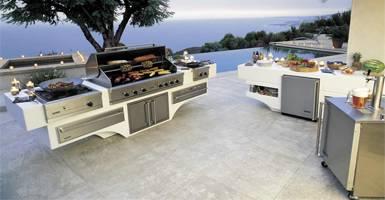 modular outdoor kitchens San Diego CA