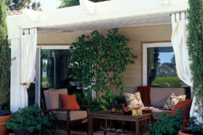 outdoor living space San Diego CA