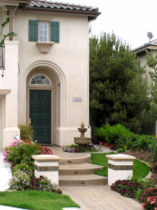 front porch landscaping San Diego CA
